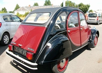 Photo CITROEN 2 CV - 2 CV 6 CHARLESTON - 77 029 KM 350