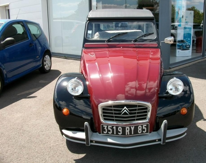 Photo CITROEN 2 CV - 2 CV 6 CHARLESTON - 77 029 KM 455