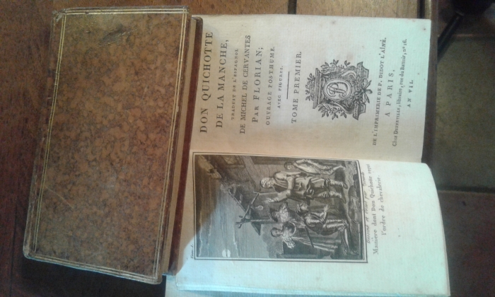 Photo Don Quichotte de la Manche 6 tomes 1798-99 560