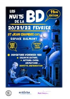 Les Nuits de la BD 2015