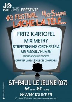 3ème édition du festival Lâche la Télé les 4