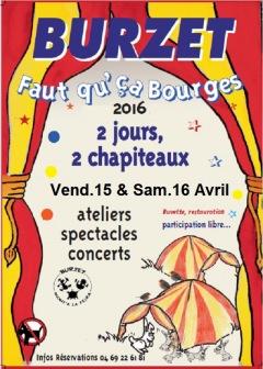 « Faut Qu'Ca Bourges ! » 5ème édition - 2016