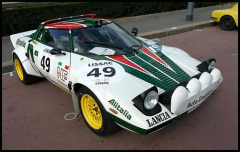 Lancia Stratos Rallye Historique