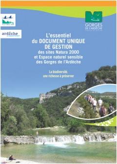 Natura 2000 et Espace Naturel Sensible 2015