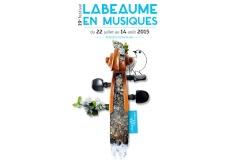 Festival 2015 - 19ème Festival LABEAUME EN MUSIQU