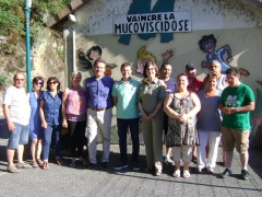 Festivités Vals les Bains 2015 - Virade de l'es