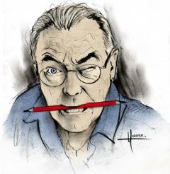 La Caricature du Mois d'Août 2015 par Roland Hour