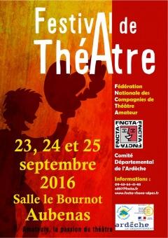 Festival de Théâtre Amateur à Aubenas - Du 23 a