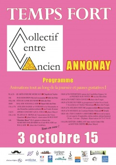 Temps Fort Annonay - 03 Octobre 2015