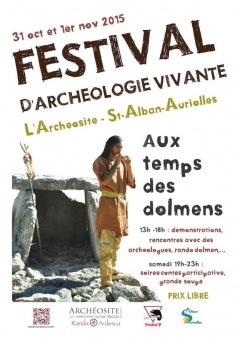 FESTIVAL d'Archéologie Vivante 2015