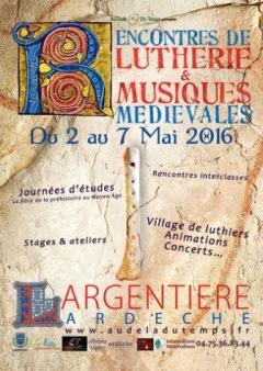 Le retour des Rencontres de Lutherie & Musique