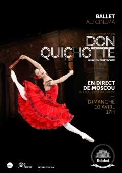 RETRANSMISSION BALLET 2016 : DON QUICHOTTE