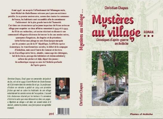 LIVRE ARDÈCHE : Mystères au village