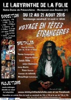 3e édition du Labyrinthe de la Folie 2016