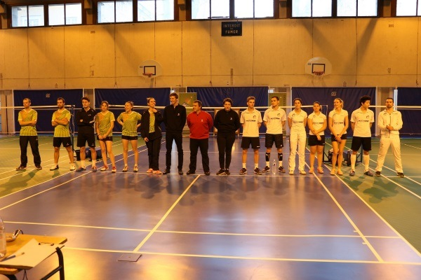 5eme Journée Interclub Nationale 3 Badminton Tour