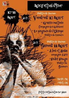 Mini festival de Théâtre d'hiver de Tournon 2017