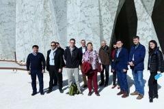 Visite d'une délégation Russe à la Caverne du