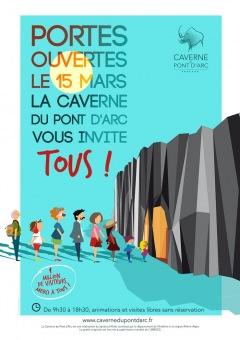 Invitation aux portes ouvertes de la Caverne du Po