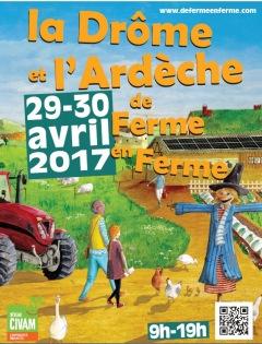 L'Ardèche de ferme en ferme ® 29 et 30 avril 201