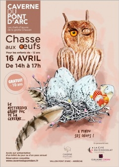 Chasse aux œufs…du Grand-Duc de la Caverne 2017