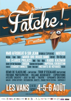 FESTIVAL FATCHE 1ère édition 2017 - LES VANS