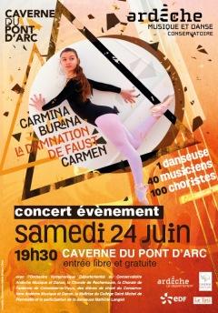 Concert événement - Caverne du Pont d'Arc - 24