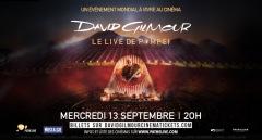 CONCERT LES QUINCONCES 2017 : DAVID GILMOUR - LE L