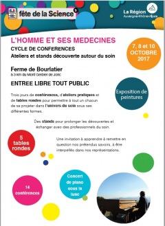 Ferme de Bourlatier : Fête de la Science 2017