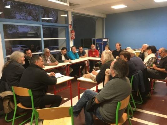 Grotte Chauvet 2017 : élus du syndicat mixte à l