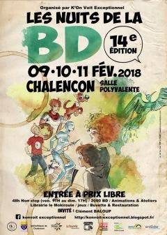 Les Nuits de la BD 2018 à Chalencon