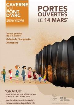 Caverne Pont d'Arc : Journée Portes ouvertes, le