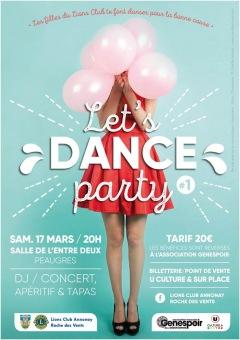 """Soirée dansante """"Let's dance party » Peau"""