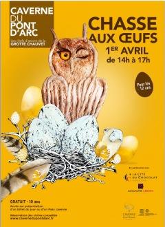 Caverne Pont d'Arc : Chasse aux œufs…du Grand-D