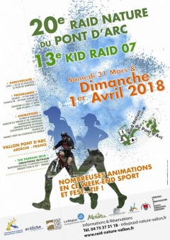 Raid nature du Pont d'Arc 2018