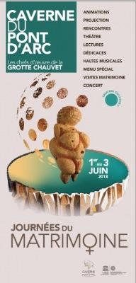 Caverne Pont d'Arc 2018 : 2èmes Journées du Matr