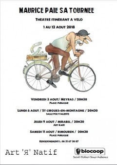 « Maurice paie sa tournée » - Du 1 au 12 août
