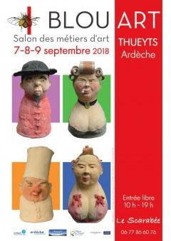 BLOU'ART : 12ème SALON DES MÉTIERS D'ART 201