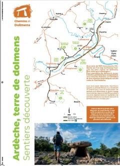 """Sentiers découverte """"chemins et dolmens&quot"""
