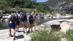 Gorges de l'Ardèche : l'équipe d'éco-gard