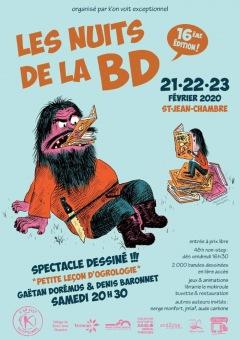 Les Nuits de la BD à Saint-Jean-Chambre 2020