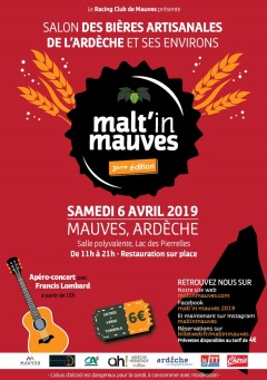 3ème édition du malt'in mauves 2019