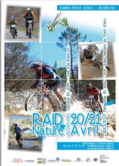 Le Kid Raid et le Raid Nature du Pont d'Arc 2019