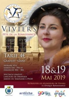 Fête de la Renaissance 2019 à Viviers