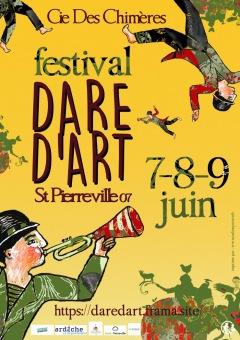 FESTIVAL DARE D'ART les 7, 8 et 9 JUIN 2019