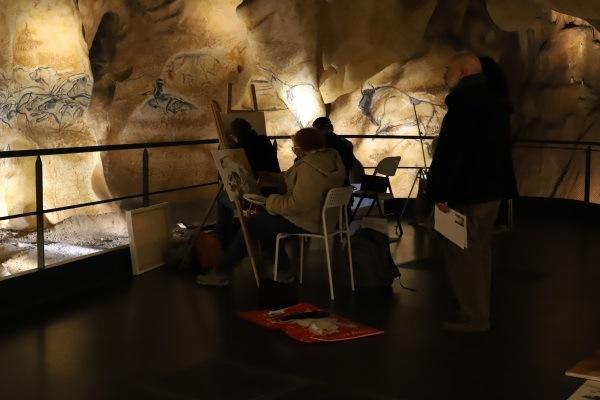 Grotte Chauvet 2 2019 : journée des Copistes