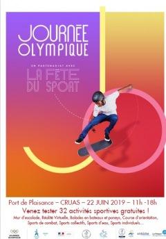 Journée Olympique à Cruas 2019