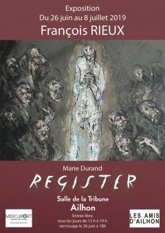 """EXPOSITION AILHON 2019 : """" Marie Durand - Ré"""