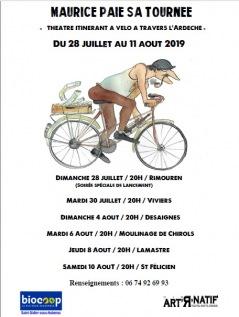 « Maurice paie sa tournée » 2019