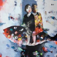 EXPOSITION LES QUINCONCES 2019 : ABIY – peinture