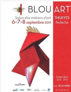 BLOU'ART 13ème SALON DES MÉTIERS D'ART 2019